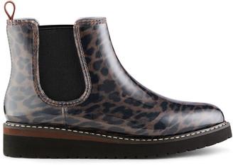 Cougar Kensington Shiny Demi-Wedge Chelsea Boots