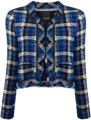 Pinko cropped tweed jacket