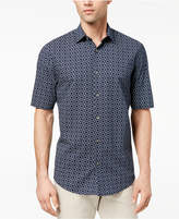 Alfani Men's Interlocking Geo-Print Shirt, Created for Macy's