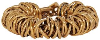 Balenciaga Gold Multiring Bracelet