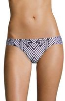 Red Carter Azteca Side Tab Hipster Bottom