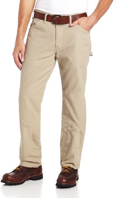 Dickies Mens Relaxed Fit Straight-Leg Duck Carpenter Jean Jeans - Beige -