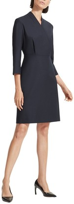 M.M. LaFleur M.M.Lafleur Niko Wool-Blend Dress
