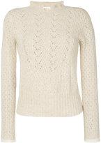 See by Chloe pointelle delicate sweater - women - Acrylic/Nylon/Wool/Alpaca - M