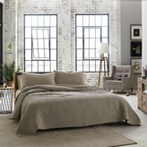 Kenneth Cole Reaction Home Horizon Twin Coverlet in Oatmeal