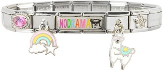 Nomination No Drama Sterling Silver & Stainless Steel Bracelet