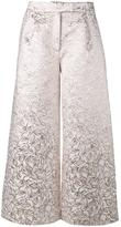 Osman brocade culottes - women - Silk/Polyester - 8