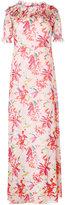Giamba floral print long dress - women - Cotton/Silk/Polyester/Spandex/Elastane - 42