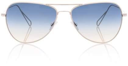 Isabel Marant Matt aviator sunglasses for Oliver Peoples