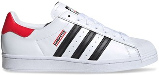 adidas X Run-DMC white Superstar sneakers