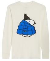 Hanes Peanuts Snoopy Coat T-Shirt