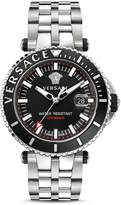 Versace Stainless Steel V-Race Diver Watch, 46mm