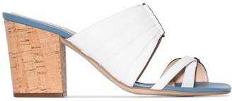Rosie Assoulin Funky 70mm double-strap mules