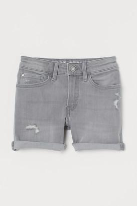 H&M Comfort Stretch Denim Shorts
