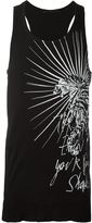 Haider Ackermann graphic print tank top