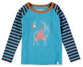 Rockin' Baby Joseph Mountain Deer T-Shirt in Blue