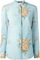 Alexander McQueen floral print blouse