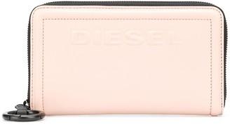 Diesel two tone zip purse