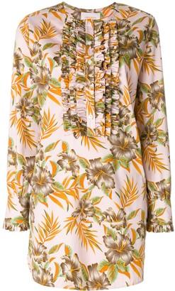 La DoubleJ Polinesia tuxedo dress
