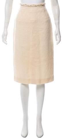Chanel Wool Tweed Skirt w/ Tags