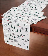 Kate Spade Holiday Village Table Linens