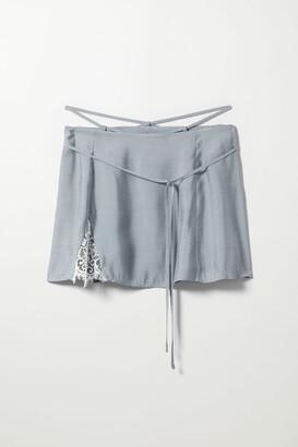 Weekday Lucille Skirt - Blue