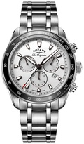 Rotary Gents Stainless Steel Bracelet Watch With Chronograph Dial Gb90169/02