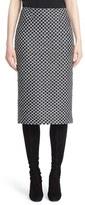 St. John Women's Chain Knit Pencil Skirt