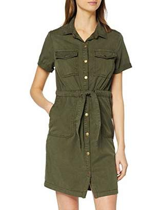 New Look Women's Ayda Utility Dress,8 (Size:8)