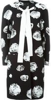 Proenza Schouler floral print tie coat - women - Cotton/Acetate/Silk/Spandex/Elastane - 6