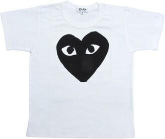 Comme des Garcons Black Heart Graphic T-Shirt