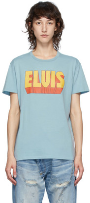R 13 Blue Elvis Logo Boy T-Shirt