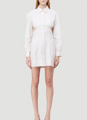 Jacquemus Open Shirt Dress