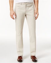 Alfani Men's Big and Tall Slim Fit Cotton Pants, Created for Macy's