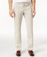 Alfani Men's Flat-Front Stretch Slim-Fit Pants, Only at Macy's