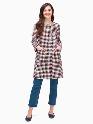 Kate Spade Enchanted Tweed Coat