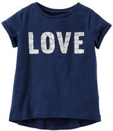 """Carter's Baby Girl Lace """"Love"""" Tee"""