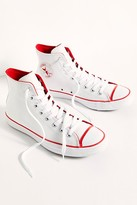 Converse Chuck Taylor All Star University Hi-Top Sneakers by at Free People, White / Mouse / University Red, US 6 M