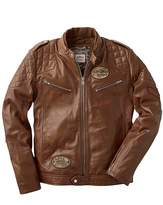 Joe Browns Leather Jacket Regular