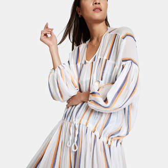 Binetti Love Monaco Striped Caftan Dress