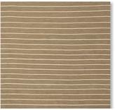 Williams-Sonoma Williams Sonoma Mini Stripe Flatweave Rug, Caramel
