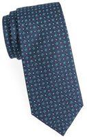 Saint Laurent Micro Dot Silk Tie