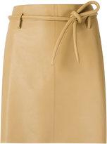 Egrey - leather skirt - women - Leather - 40