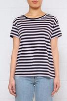 Cheap Monday Lilac Stripe Tee