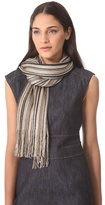 Missoni Vertical Stripe Lurex Scarf