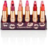 Charlotte Tilbury Hot Lips Luxury Collection 12 Lipsticks & Holder