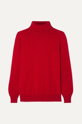 &Daughter Casla Cashmere Turtleneck Sweater - Red