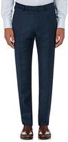 Ermenegildo Zegna Men's Wool Slim-Fit Trousers-NAVY