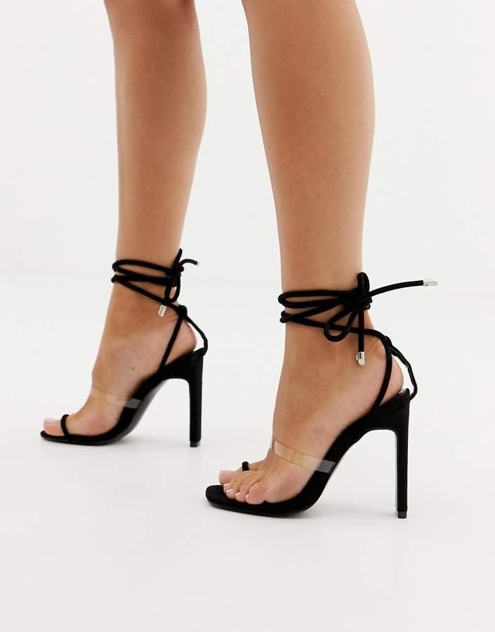 dc91e4ba02a Clear Heel Shoes - ShopStyle