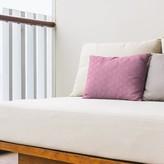 Classic Zig Zag Indoor/Outdoor Lumbar Pillow East Urban Home Color: Pink